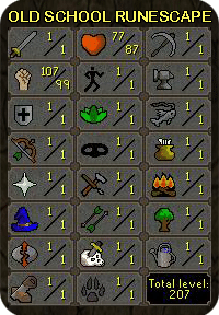 Old school Runescape account hand-trained account for sale! Buy this hand-trained OSRS account to improve faster in the game. Or buy RS2007 account as a second or thirs RS 2007 account to keep up with Runescape 2007 game ever growing number of items, goods and events